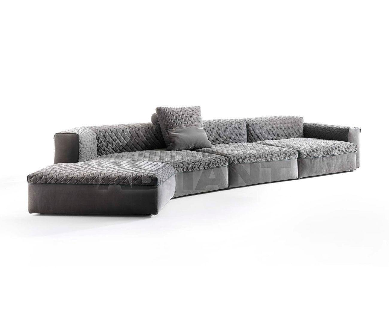 Sofa Sforza Dark Grey Vittoria Frigerio By Frigerio