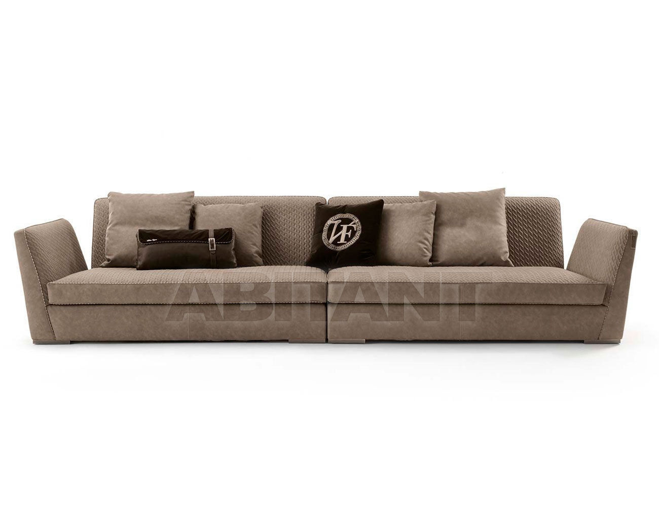 Sofa Visconti Light beige Vittoria Frigerio by Frigerio Poltrone e ...