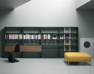 Библиотека темно-зеленая md house l0217 , каталог корпусной .