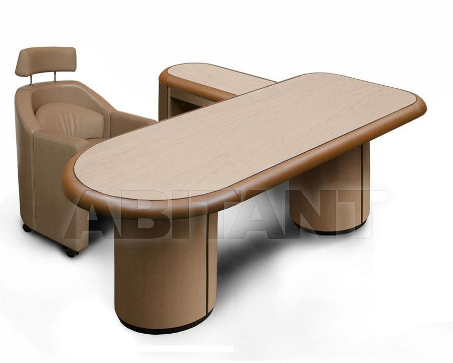 Writing desk Ergon Light beige Rossi di Albizzate EN 4 SC SX, : Buy ...