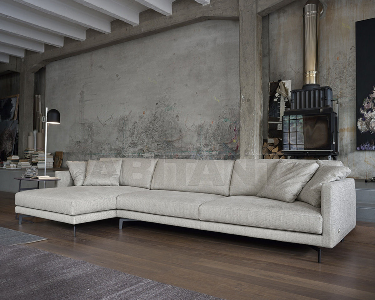 Sofa Bart gray Doimo salotti 2BUR02, : Buy, оrder оnline on ABITANT