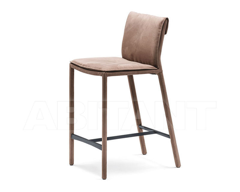 Bar stool isabel sgabello light brown cattelan italia isabel