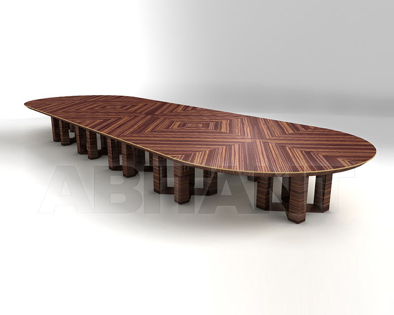 Buy Conference table ETTORE BERDONDINI  AB 1926 Historic Collection ETTORE oval table 32