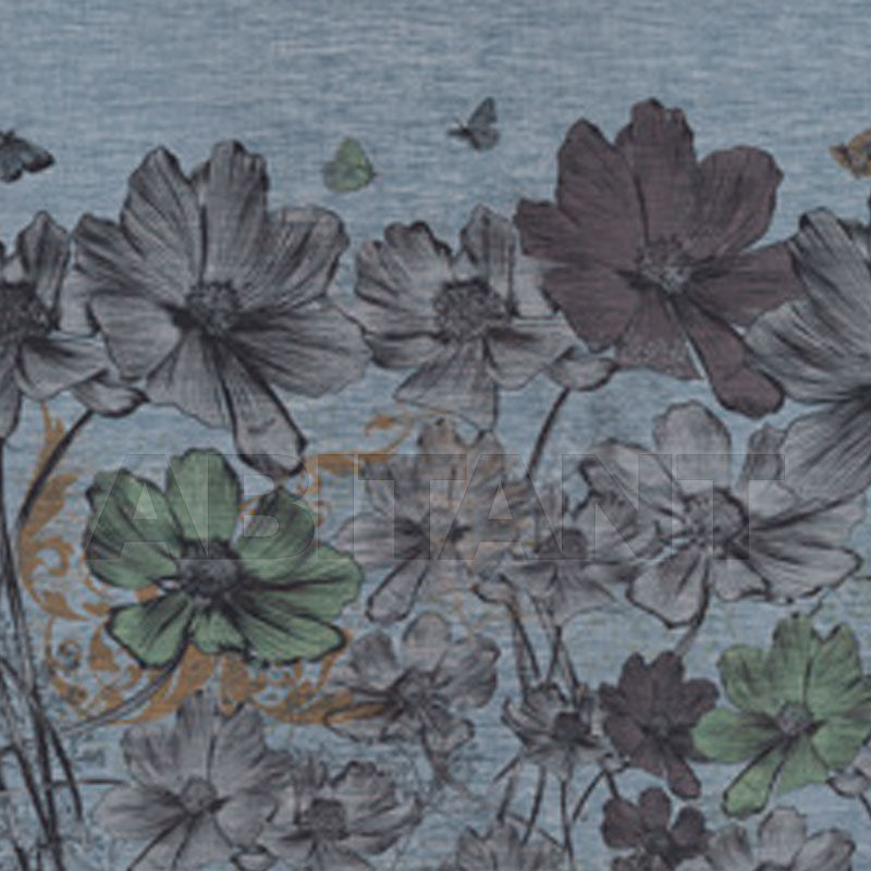 Buy Non-woven wallpaper Tonin Casa 2018 JEANS FLOWERS