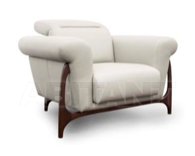 Buy Chair Tonino Lamborghini by Formitalia Group spa 2020 KOBE Armchair leather