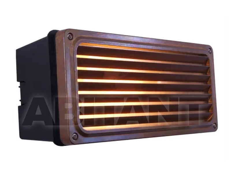 Buy Wall light AGHER RECESSED GRILL Mullan Lighting 2020 MLWL072ANTBRS