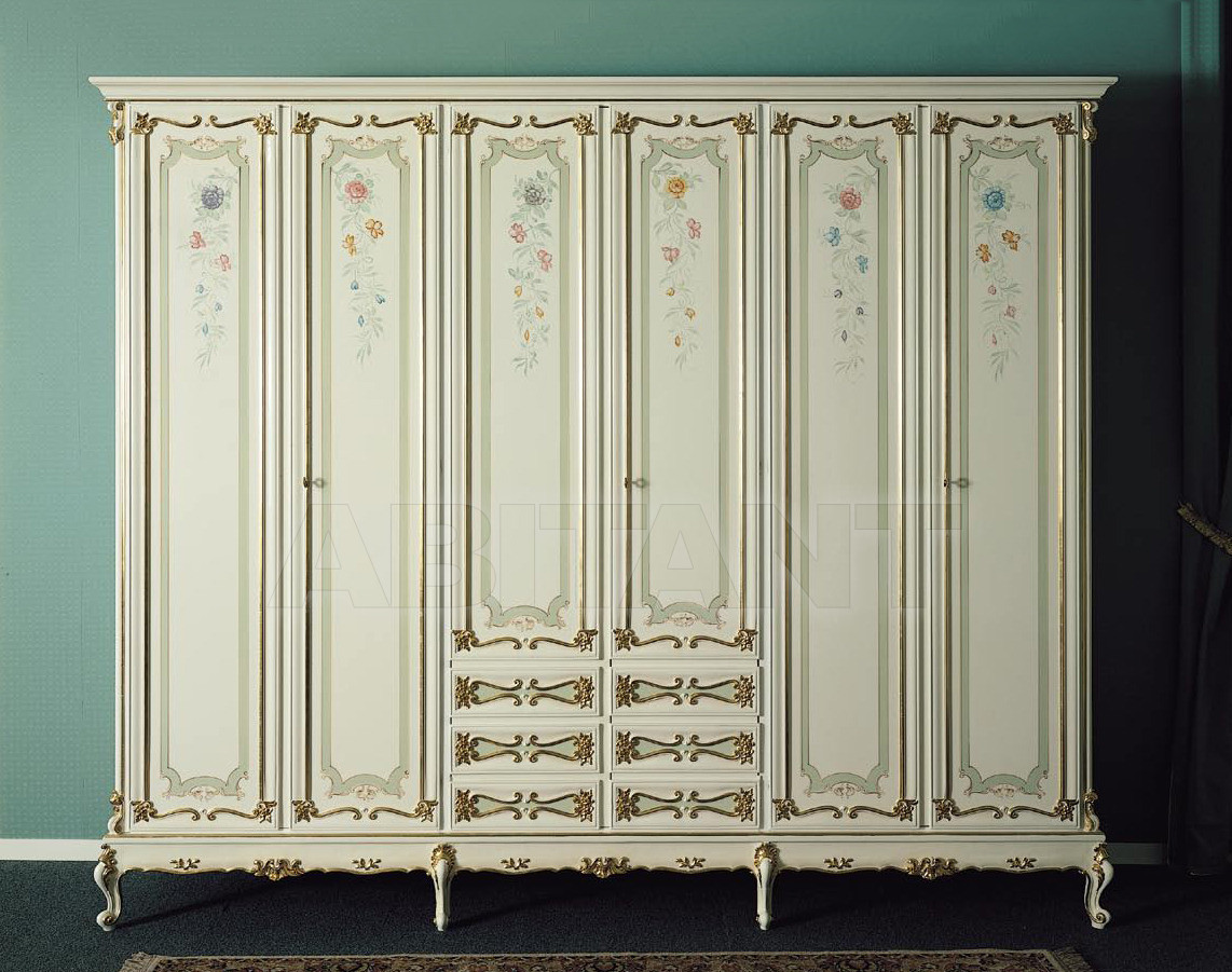 Buy Wardrobe OSIRIDE Asnaghi Interiors Bedroom Collection AS5500