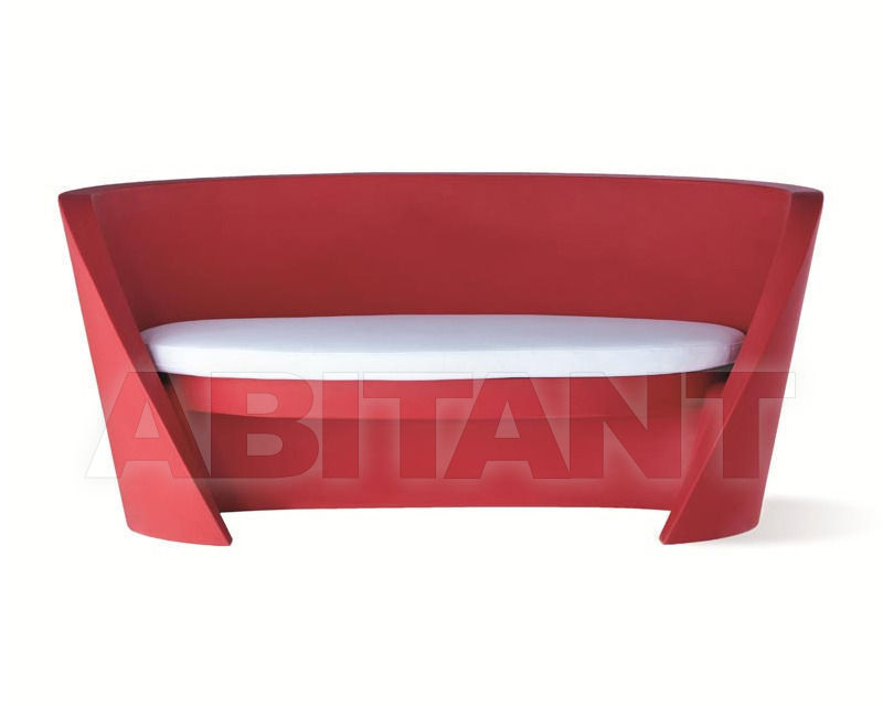 Buy Terrace couch Slide Furniture SD RAP075+SD RAP076 red