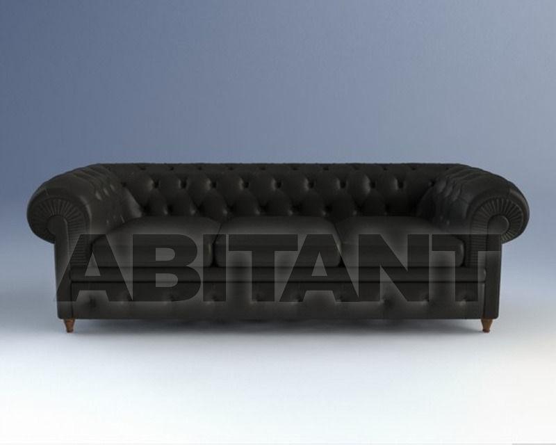 Sofa Chester black Poltrona Frau 5107311 2, : Buy, оrder оnline on ...