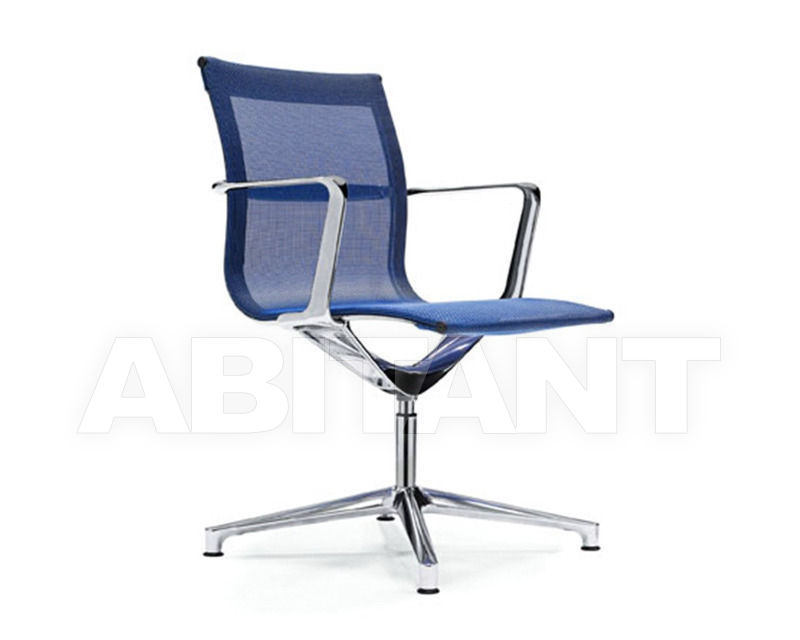 Buy Armchair ICF Office Una 1833157 blue