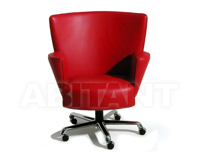 Office chair Vik red Rossi di Albizzate VK P, : Buy, оrder оnline on ...